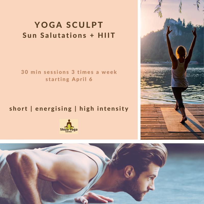 sun sculpt_YOGA HIIT_YOGA SCULPT package short _ Energising _ high intensity